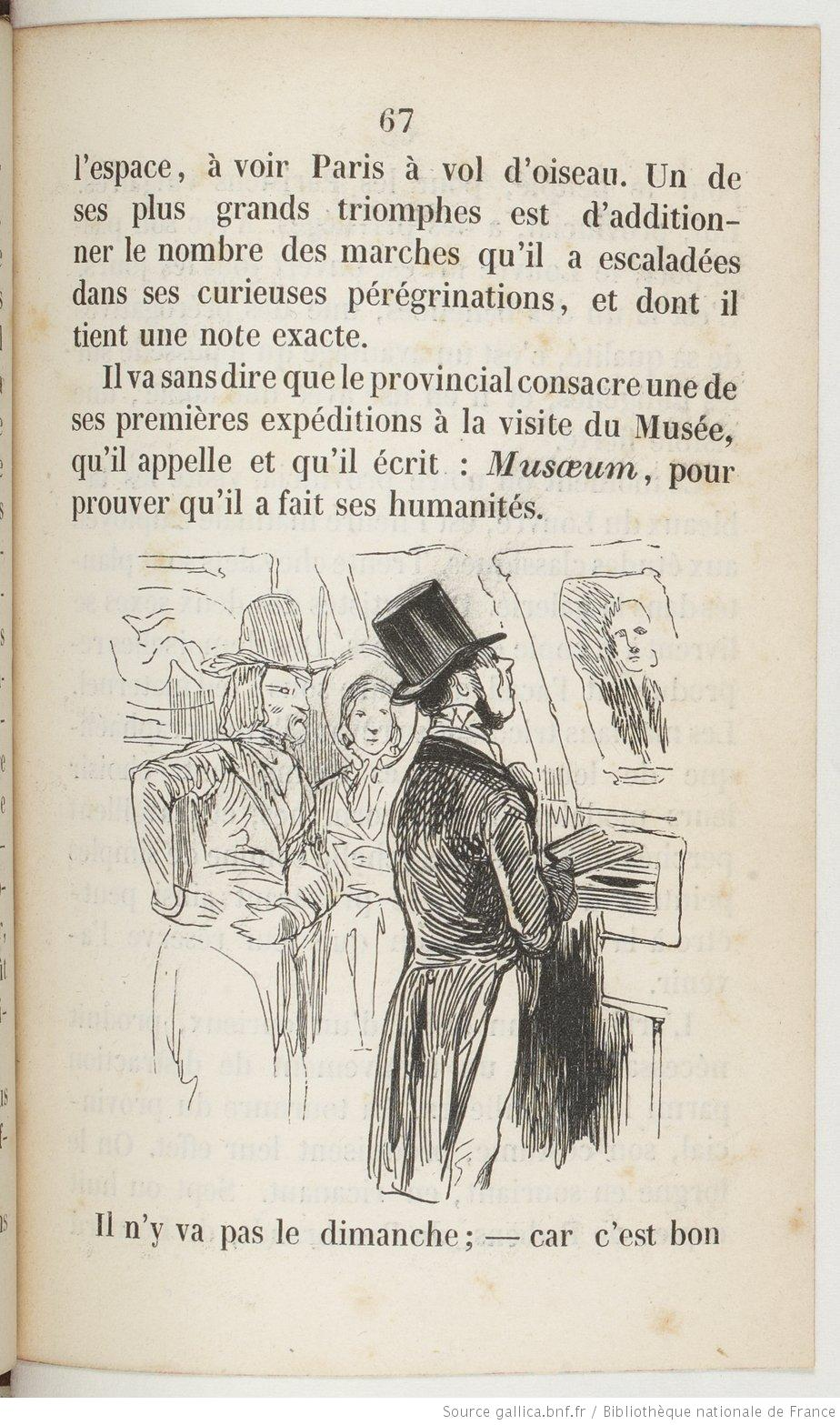 Physiologie du provincial à Paris, p.67