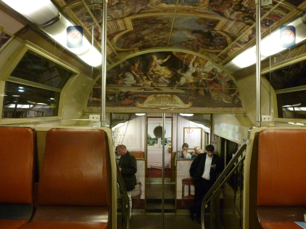 RER C train Versailles