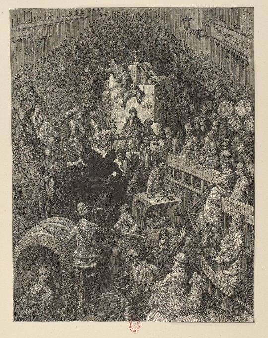 City Thoroughfare Gustave Doré, Londres, 1872