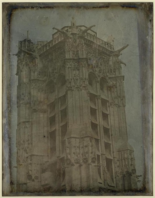 Tour Saint-Jacques Paris, 1841, Daguerréotype