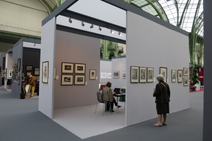 Salon de l'estampe, Grand Palais, 2015