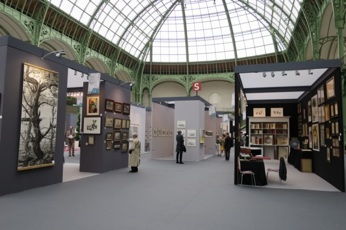 Salon international de l'estampe, Grand Palais, 2015