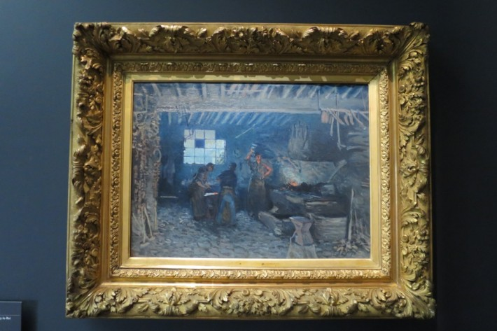 Alfred Sisley, La Forge à Marly-le-Roi, 1875, Musée d'Orsay