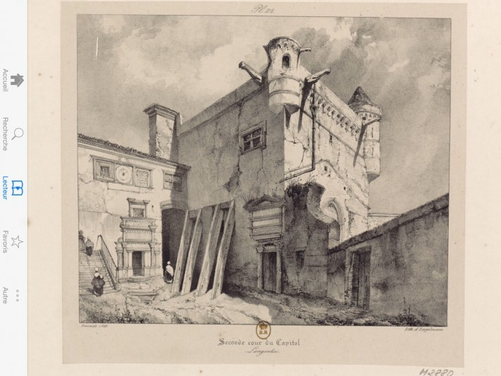 Donjon_Capitole_Dessin_Voyages_Pittoresques
